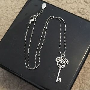 Authentic Disney mickey key necklace